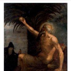 Arte: PAULVS PRIMUS EREMITA , ESC.FLAMENCA SIGLO XVII. Lote 293503188