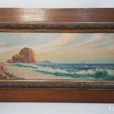 Arte: 2 OLEOS ENMARCADO J.PUJATTI 1929 PAISAJE COD 32189. Lote 293611883