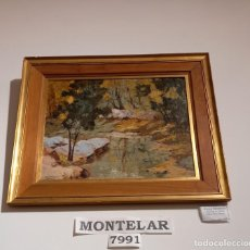 Arte: OLEO DE MONTELAR COD 7991. Lote 293638523