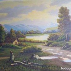 Arte: OLEO DECORATIVO PAISAJ J TORRES COD 32205. Lote 293639653