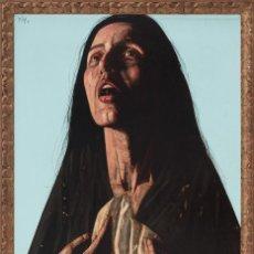 Arte: FRANCISCO CORTIJO . GRAN ÓLEO SOBRE TABLA . FIRMADO , FECHADO Y CATALOGADO . 130 X 89 CM. ENMARCADO. Lote 48198876