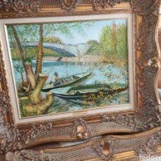 Arte: LA PECHE SU PRINTEMPS PONTE DE CLICHY 1887 VAN GOGH. Lote 293889848