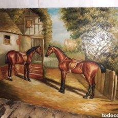Arte: OLEO SOBRE TABLA 40X30 CM VER FOTOS.. Lote 293962028
