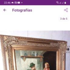 Arte: CUADRO OLEO SOBRE TABLA, VER FOTOS... Lote 294119083