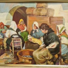 Arte: AGUSTIN PEDRO ALIAGA (MELILLA 1949), PRECIOSA Y MAGNÍFICA PINTURA ORIGINAL FIRMADA.. Lote 294371738