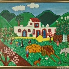 Arte: JAIME RITTWAGEN (MÁLAGA 1941) PRECIOSA PINTURA NAF, FIRMADA.. Lote 294373048