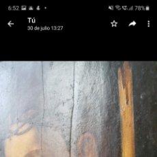 Arte: ECCE HOMO. CIRCULO LUIS MORALES. XVI. TABLA. 90CMX 50CM. Lote 294509608