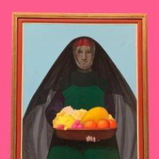 Arte: OFRENDA DE FRUTAS, MANUEL DE LAS CASAS ORIGINAL. Lote 295304853