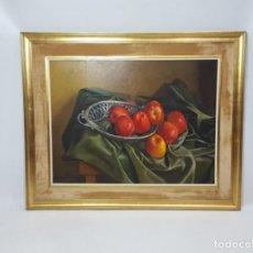 Arte: OLEO FRUTERA CON MANZANAS J.ORIUHEL COD 32363. Lote 295345533