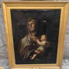 Arte: VIRGEN CON NIÑO S.XVIII. Lote 295365888