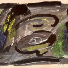 Arte: BARTOMEU MASSOT GUILLAMET (FIGUERES, 1923 - BARCELONA, 1974) TECNICA MIXTA SOBRE PAPEL DEL AÑO 1969.. Lote 295407448