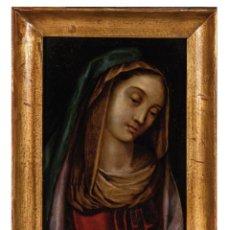 Arte: ÓLEO COBRE DOLOROSA ESCUELA ITALIANA SIGLO XVII. Lote 295413163