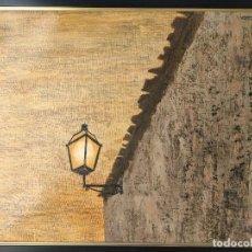 Arte: JOSEP VERGÉS GRAU (1925-1989) - VERGÉSGRAU OLEO SOBRE TELA FANAL CUENCA FIRMADO 1976. Lote 295791098