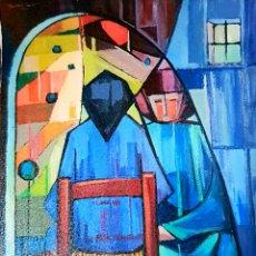 Arte: HERMINO SENTÍS. FRENTE A FRENTE 1969. Lote 296020583