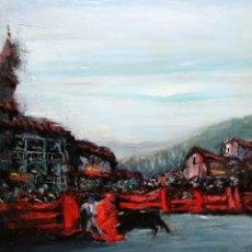 Arte: JUAN ESCODA COROMINAS (MORA DE EBRO, TARRAGONA, 1920 - 2012) GRAN OLEO SOBRE TELA. AÑO 1977. CAPEA. Lote 296912823