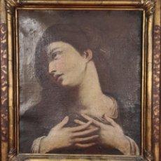 Arte: INMACULADA CONCEPCION. ÓLEO SOBRE LIENZO. ESCUELA ITALIANA. SIGLO XVII-XVIII.. Lote 297025873