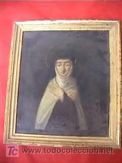 RELIGIOSA OLEO SOBRE TELA CARMELITA (Arte - Arte Religioso - Pintura Religiosa - Oleo)