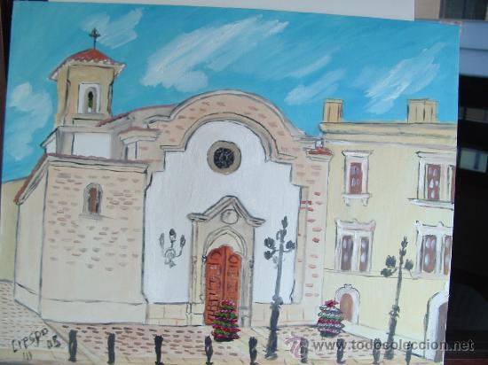 IGLESIA DE LA VIRGEN DEL MAR ALMERÍA (Arte - Arte Religioso - Pintura Religiosa - Oleo)