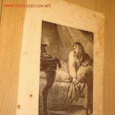 Arte: ANTIGUA LITOGRAFÍA RELIGIOSA - HERODES - MITAD SIGLO XIX, 1850. . Lote 1893644