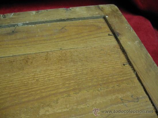 Arte: GUAPO ECCE HOMO ENMARCADO, NOGAL O CAOBA Y LIMONCILLO. SG.XIX. 1870. LITOGRAFIA COLOR. 50 X 62 CM. - Foto 4 - 11057143