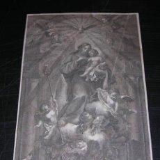 Arte: GRABADO S.XIX - SAN JOSEF ( JOSEP ) VENERA EN LA CIUDAD DE VALENCIA. Lote 15188667