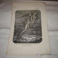 Arte: GRABADO LITOGRAFIA ?PERTENECE A UN LIBRO .ILUSTRADOR JANET SADURNI.MEDIADOS SIGLO XX. Lote 16591955