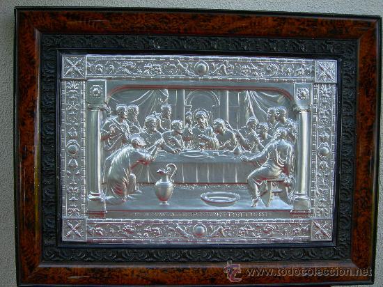 SANTA CENA METÁLICA (Arte - Arte Religioso - Pintura Religiosa - Otros)