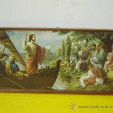 Arte: LAMINA RELIGIOSA JESUS PREDICANDO. Lote 15238497