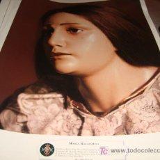Arte: LAMINA 40 X 29 GRUESA,MARIA MAGDALENA. Lote 19844802