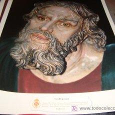 Arte: LAMINA 40 X 29 GRUESA,SAN BARTOLOME. Lote 16016559