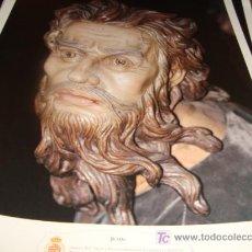 Arte: LAMINA 40 X 29 GRUESA,JUDAS. Lote 16016573