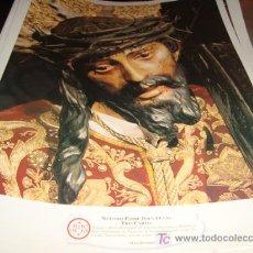 Arte: LAMINA 40 X 29 GRUESA,NUESTRO PADRE JESUS DE LAS TRES CAIDAS. Lote 16016635