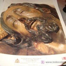 Arte: LAMINA 40 X 29 GRUESA,NUESTRO PADRE JESUS DESCENDIDO DE SU CRUZ EN EL MISTERIO DE SU SAGRADA MORTAJA. Lote 16016787