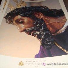 Arte: LAMINA 40 X 29 GRUESA,NUESTRO PADRE JESUS NAZARENO. Lote 16016835