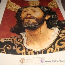 Arte: LAMINA 40 X 29 GRUESA,SACRADA ORACION DE NUESTRO SEÑOR JESUCRISTO EN EL HUERTO. Lote 16016863
