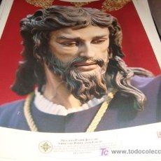 Arte: LAMINA 40 X 29 GRUESA,NUESTRO PADRE JESUS DEL SOBERANO PODER ANTE CAIFAS. Lote 16016900