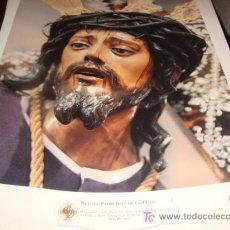 Arte: LAMINA 40 X 29 GRUESA,NUESTRO PADRE JESUS DE LAS PENAS. Lote 16016966