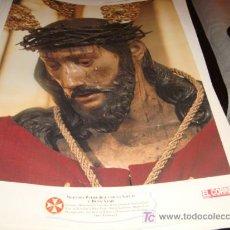 Arte: LAMINA 40 X 29 GRUESA,NUESTRO PADRE JESUS DE LA SALUD Y BUEN VIAJE. Lote 16016989