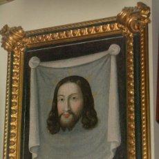 Arte: PIEZA DE MUSEO, CRISTO, JESUS, OLEO, SANTA FAZ XV-XVI. Lote 25737528