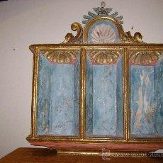 Arte: HORNACINA DE ALTAR SIGLO XVI-XVII. Lote 26935914