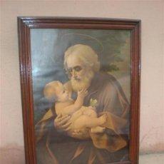 Arte: LAMINA ANTIGUA SAN ANTONIO Y MARCO. Lote 16923040