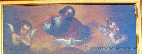 Arte: PINTURA ESPAÑOLA SIGLO XVII. LA SAGRADA FAMILIA. CERTIFICADO. NUEVO PRECIO. - Foto 4 - 4343779