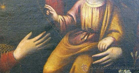 Arte: PINTURA ESPAÑOLA SIGLO XVII. LA SAGRADA FAMILIA. CERTIFICADO. NUEVO PRECIO. - Foto 6 - 4343779