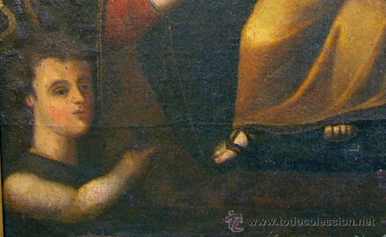 Arte: PINTURA ESPAÑOLA SIGLO XVII. LA SAGRADA FAMILIA. CERTIFICADO. NUEVO PRECIO. - Foto 7 - 4343779