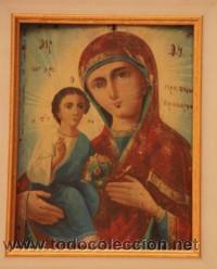 ICONO RUSO DEL SIGLO XIX (Arte - Arte Religioso - Iconos)
