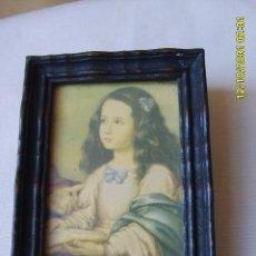 Arte: LA VIRGEN NIÑA (DETALLE). Lote 24857943