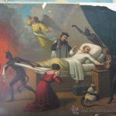 Arte: LAMINA VIA CRUCIS PRINTED IN GERMANY AÑOS 30 SUFRIDA FALTA TROCITO PAPEL 43 X 33 VER FOTO LA MISMA. Lote 22715733