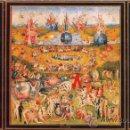 Arte: EL BOSCO: EL JARDIN DE LAS DELICIAS. CUADRO TRIPTICO DE 120 X 65 CM EN TABLA DE MADERA.. Lote 154499757