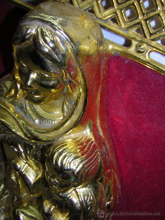 Arte: bonito cuadro para colgar con virgen 39x38cm - Foto 4 - 26349983