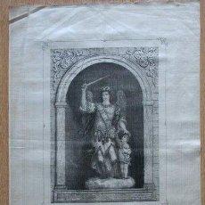 Arte: GRABADO. EL SANTO ÁNGEL DE LA GUARDA. GEBRIAN, LITH.. Lote 23959891